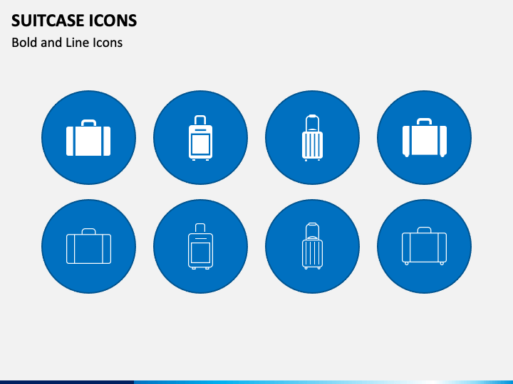 Suitcase Icons Slide
