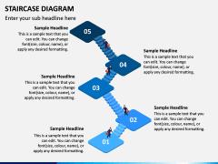 Staircase Diagram PPT Slide 7