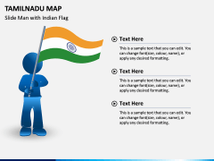 Tamilnadu Map PPT Slide 6