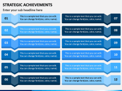 Strategic Achievements PPT Slide 10