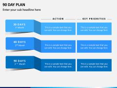 90 Days Plan PPT Slide 1