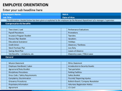 Employee Orientation PPT Slide 6