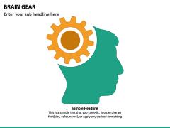 Brain Gear PPT Slide 6