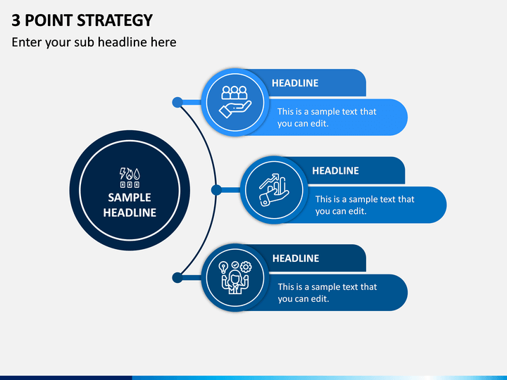 3 Point Strategy PPT Slide 1