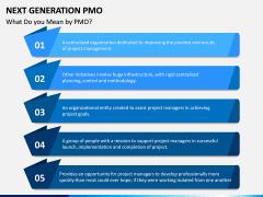 Next Generation PMO PPT Slide 1