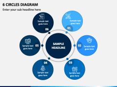 6 Circles Diagram - Free PPT Slide 1