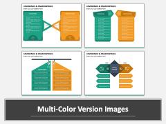 Advantages Disadvantages PPT Multicolor Combined
