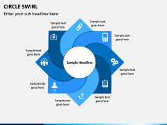 Circle Swirl PPT Slide 12