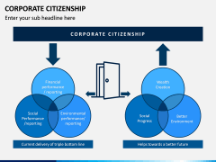 Corporate Citizenship PPT Slide 1