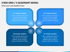 4 Box Grid PPT Slide 8