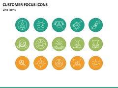 Customer Focus Icons PPT Slide 4