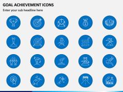 Goal Achievement Icons PPT Slide 4
