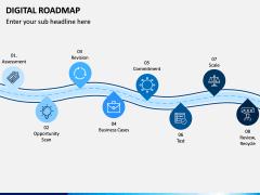 Digital Roadmap PPT Slide 3