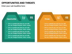 Opportunities and Threats PPT Slide 4