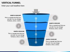 Vertical Funnel PPT Slide 6