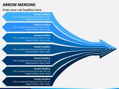 Arrow Merging PPT Slide 2