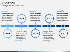 5 Year Plan PPT Slide 3