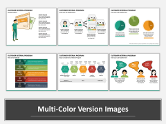 Customer Referral Program Multicolor Combined