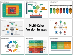 Digital Government Multicolor Combined