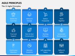 Agile Principles PPT Slide 1