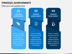 Strategic Achievements PPT Slide 1