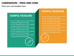Comparison - Pros And Cons PPT Slide 2