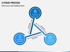 3 Stage Process PPT Slide 3