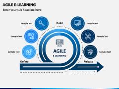 Agile eLearning PPT Slide 1