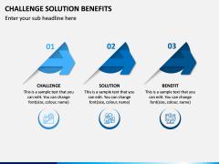 Challenge Solution Benefits PPT Slide 3