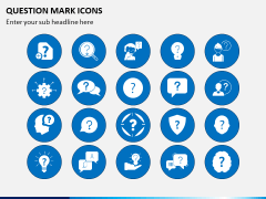 Question Icons PPT Slide 1