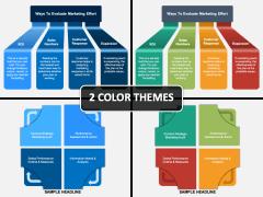Marketing Evaluation PPT Cover Slide