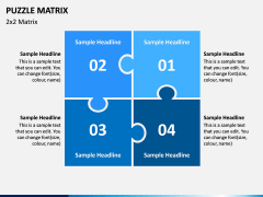Puzzle Matrix PPT Slide 3
