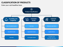 Classification of Products PPT Slide 3