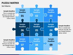 Puzzle Matrix PPT Slide 4