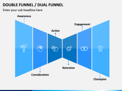 Double (Dual) Funnel PPT Slide 1