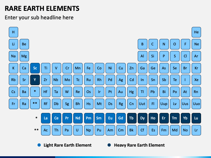 Rare Earth Elements PPT Slide 1