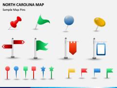 North Carolina Map PPT Slide 9