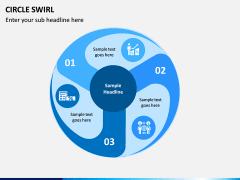 Circle Swirl PPT Slide 13