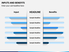 Inputs and Benefits PPT Slide 3