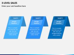Three Level Sales PPT Slide 4