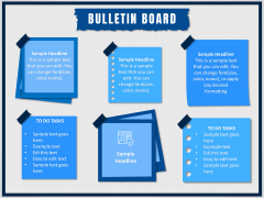 Bulletin Board PPT Slide 1