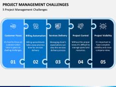 Project Management Challenges PPT Slide 1