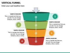 Vertical Funnel PPT Slide 23