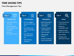 Time Saving Tips PPT Slide 4