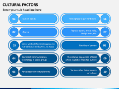Cultural Factors PPT Slide 7