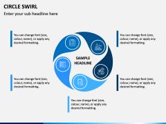Circle Swirl PPT Slide 11
