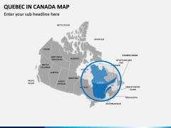 Quebec Map PPT Slide 4