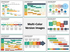 Overlapping Timeline Multicolor Combined