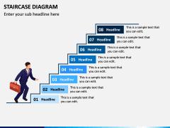 Staircase Diagram PPT Slide 8