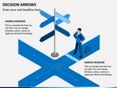 Decision Arrows PPT Slide 2